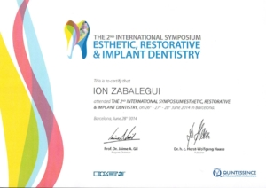 2º INTERNATIONAL SYMPOSIUM ESTHETIC, RESTORATIVE & IMPLANTE DENTISTRY