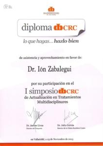 I SIMPOSIO CRC DE ACTUALIZACION TRATAMIENTOS MULTIDISCIPLINARES